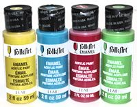 Aqua, Gray, & White (dishwasher safe) paint for the tumblers!