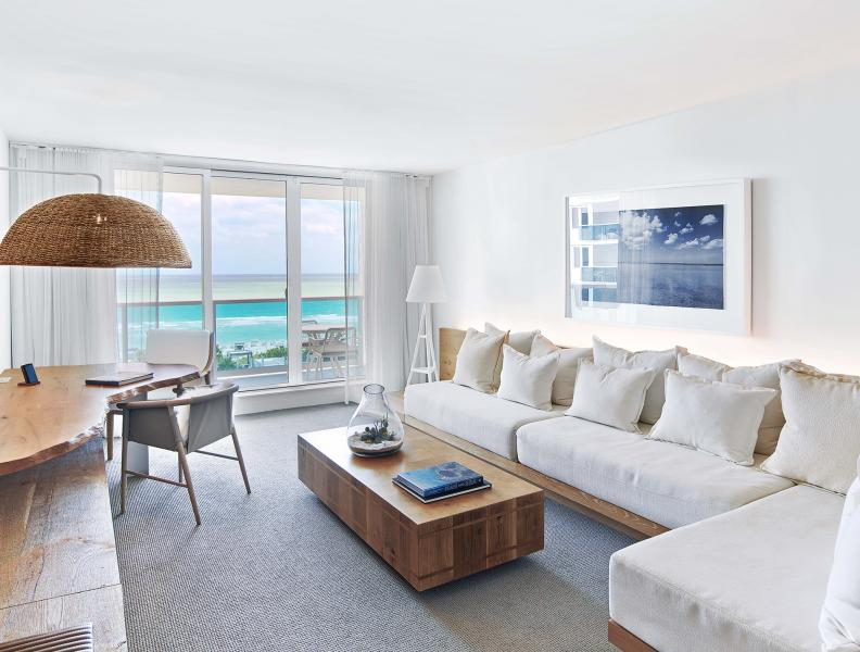 Ocean View King Room With Balcony 1 Hotel South Beach South Beach Hotels Modern Hotel Room Hotels Room