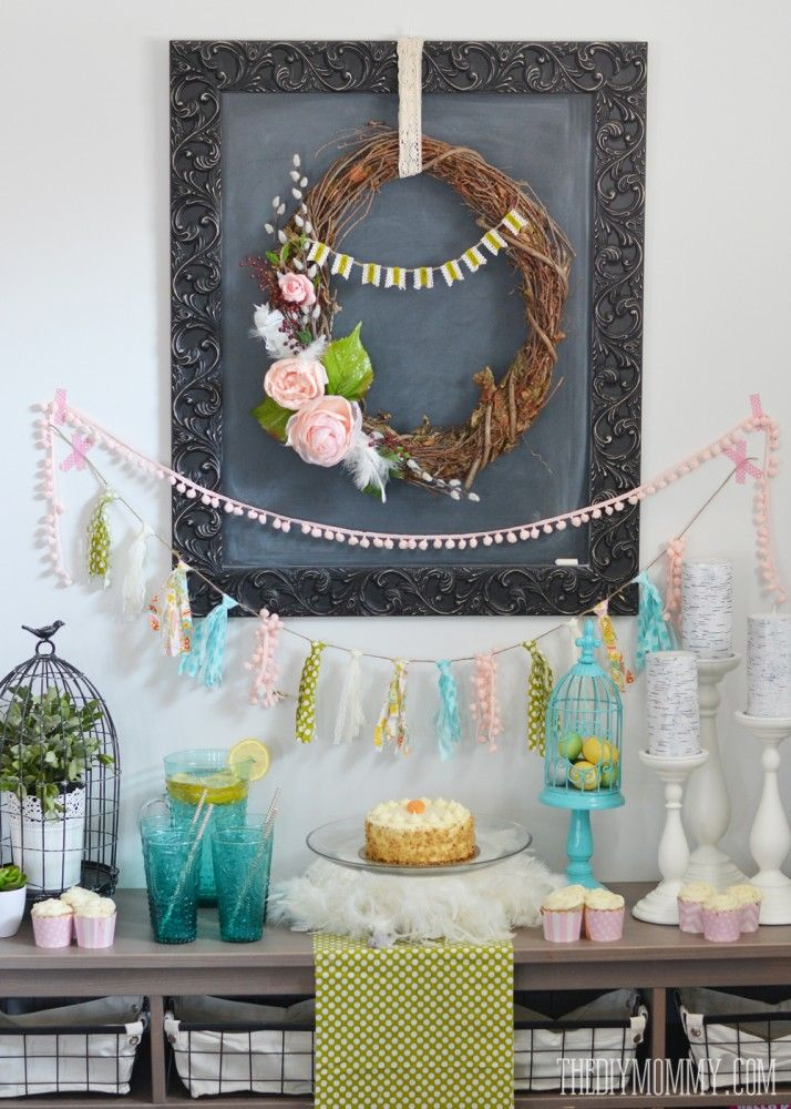 A Fresh & Happy Spring Dessert Table + More Spring Dinner Party Ideas