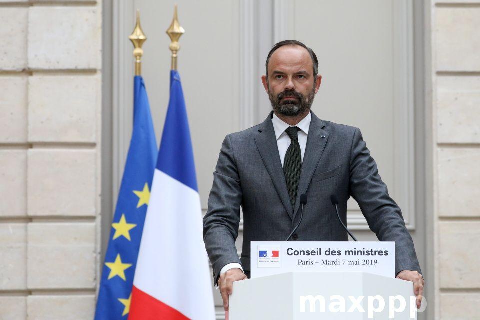 Intervention Du Premier Ministre M Edouard Philippea L Issue Du