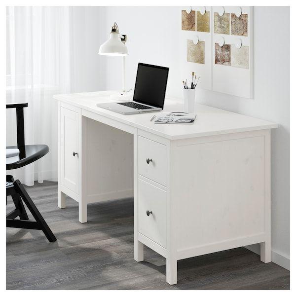 "HEMNES Desk - White Stain 61x25 5/8 """