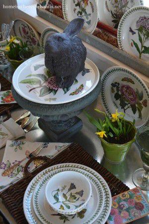 At the Table: A Citrus Centerpiece and Pfaltzgraff Napoli Dinnerware ...