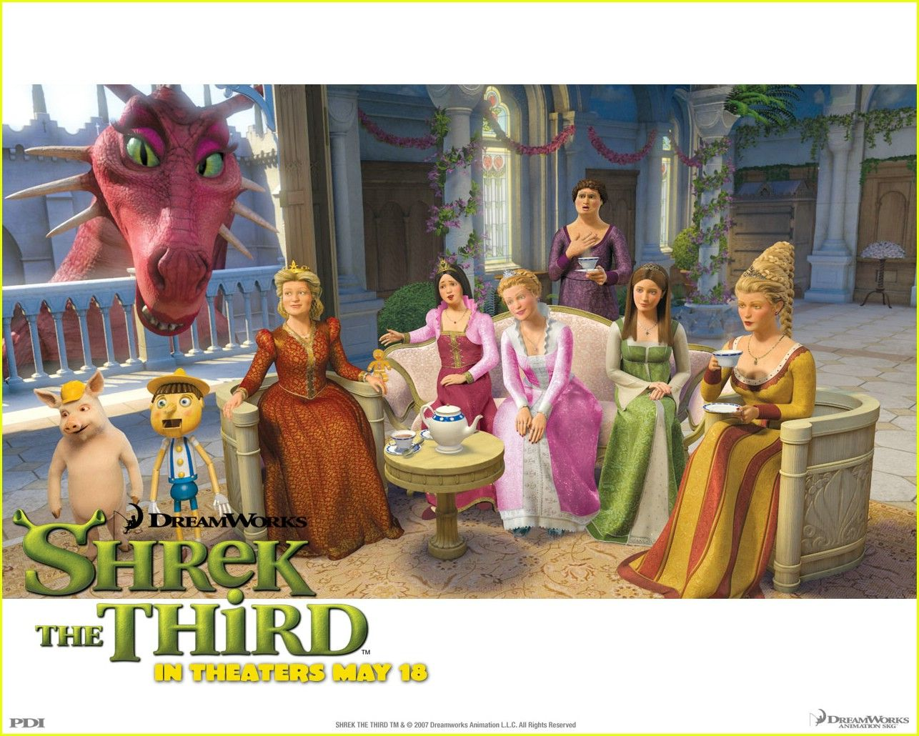 Shrek 3 Princesses Google Search Dreamworks Pinterest