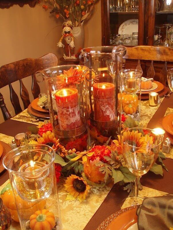 Best Thanksgiving Table Decoration Ideas From Pinterest Fall