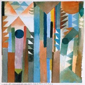 Paul Klee - Der Wald, der aus dem Samenkorn entstand