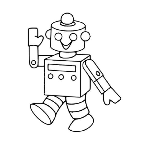 10 Précieux Coloriage Robot À Imprimer Gallery em 2020 ...