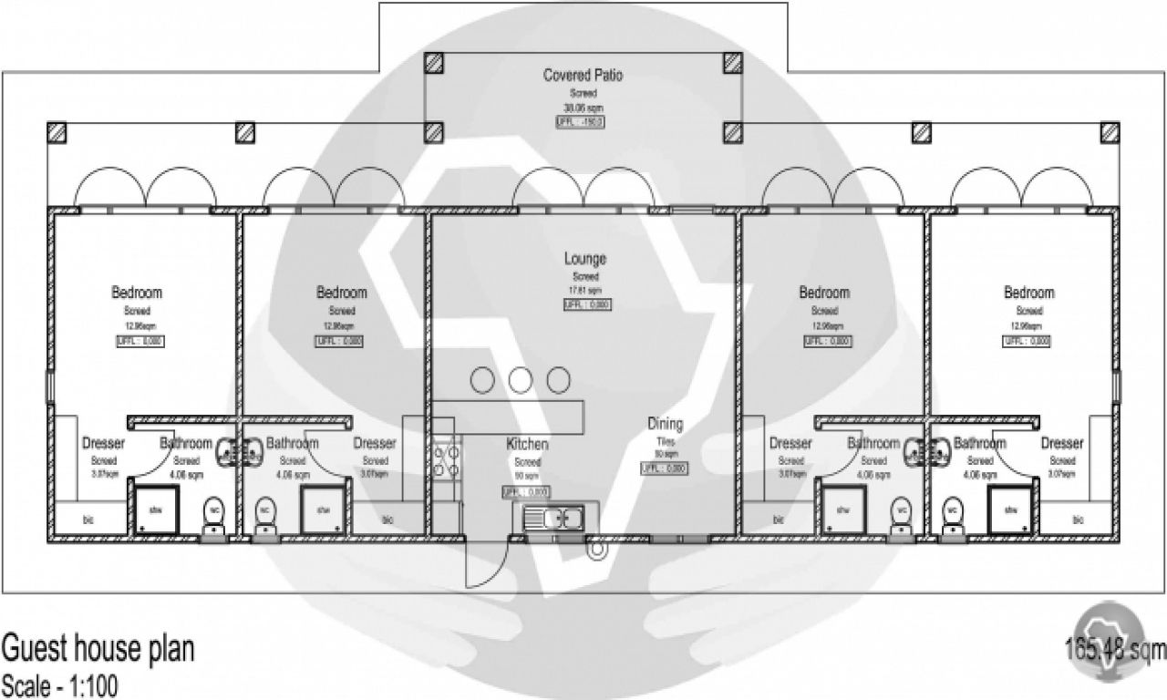 floor plans for guest houses | Back Yard Guest House Guest ...