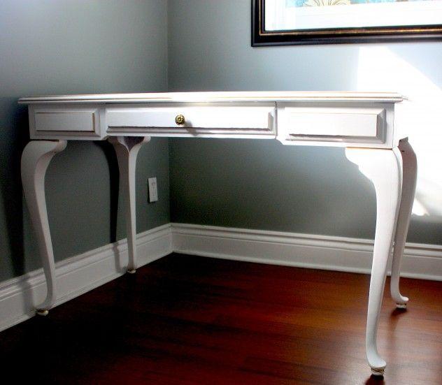 Painted Queen Anne Desk Happy Digz Home Decor Ideas Blog