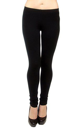 4d65501f0b4726 Vivians Fashions Long Leggings Cotton Misses Size Black 3X ** Click on the  image for additional details.(This is an Amazon affiliate link)