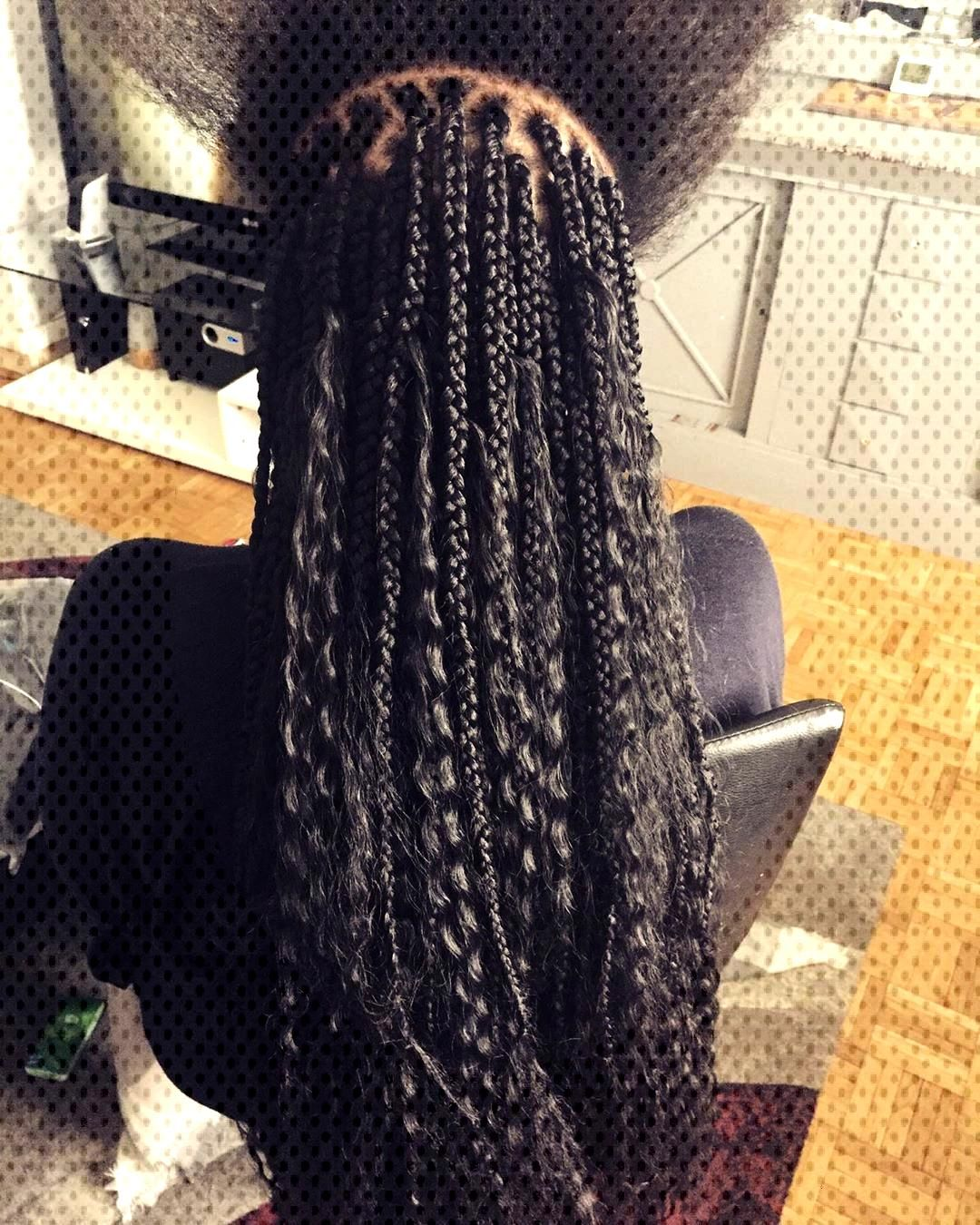 Braids africaines carre