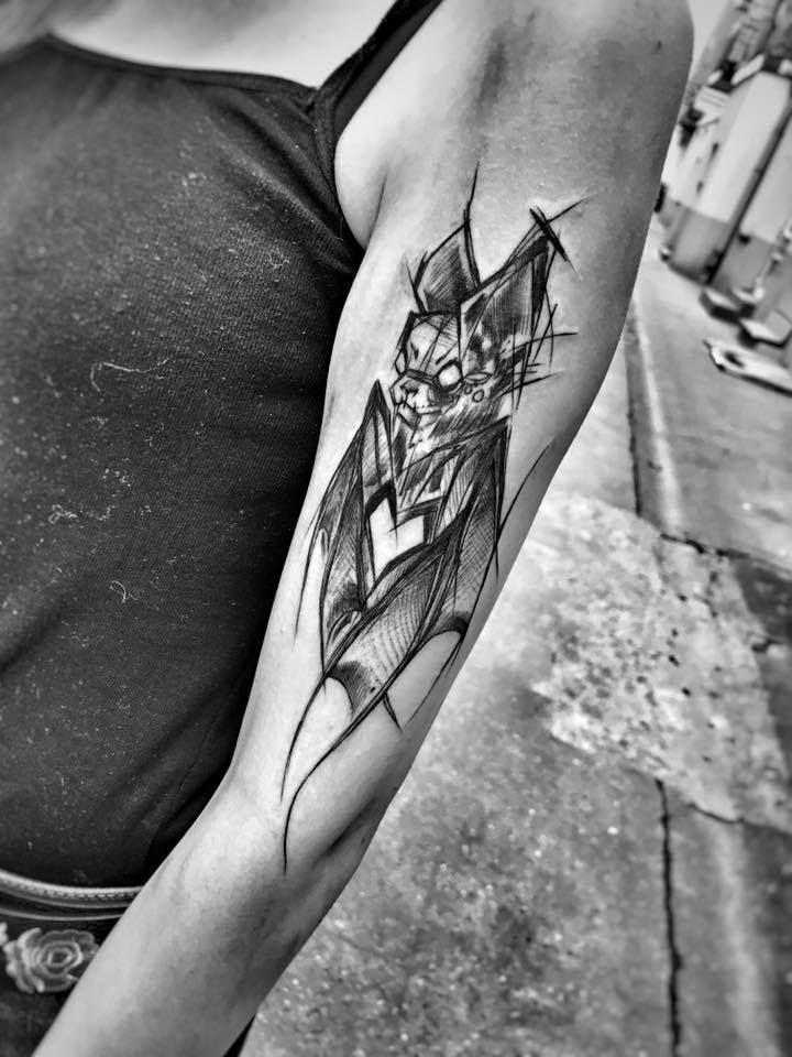 Sketch Style Tattoo Sleeve: Sketch Style Tattoos, Tattoo