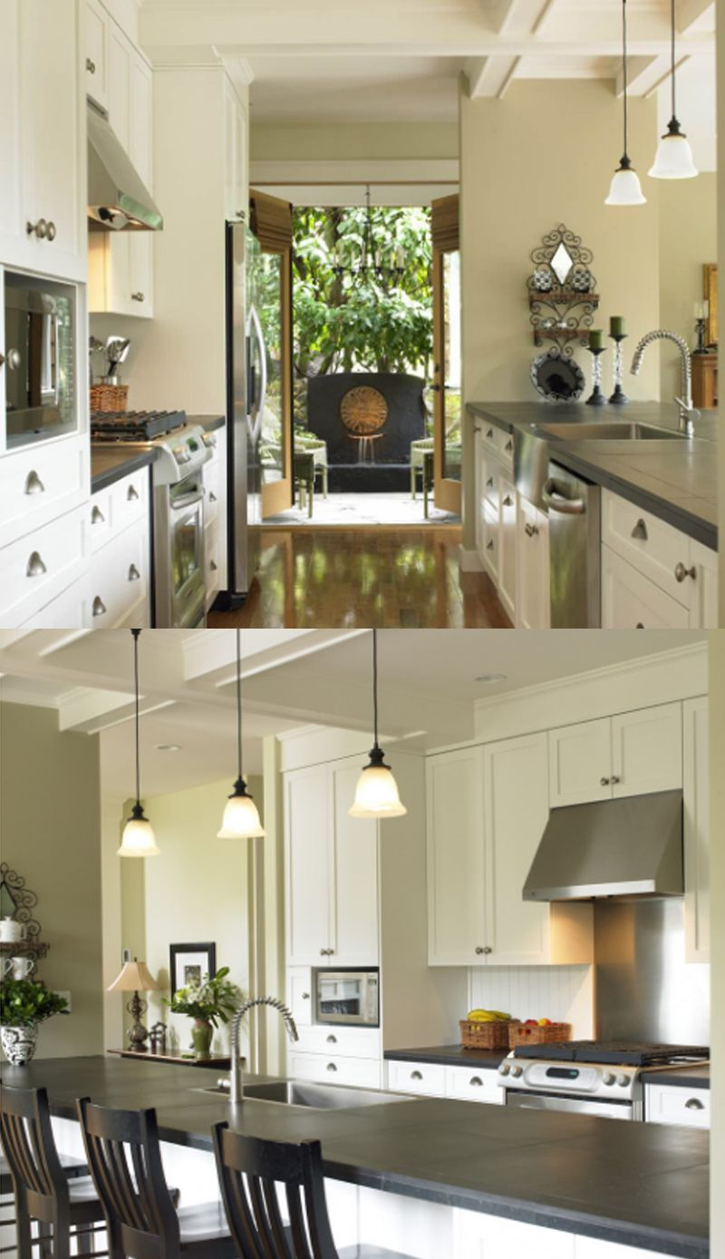 20 Amazing Galley Kitchen Remodel Ideas 2020 Tips Trends Opengalleykitchen A Kitchen Is A Room Whe Galley Kitchen Remodel Kitchen Remodel Galley Kitchen