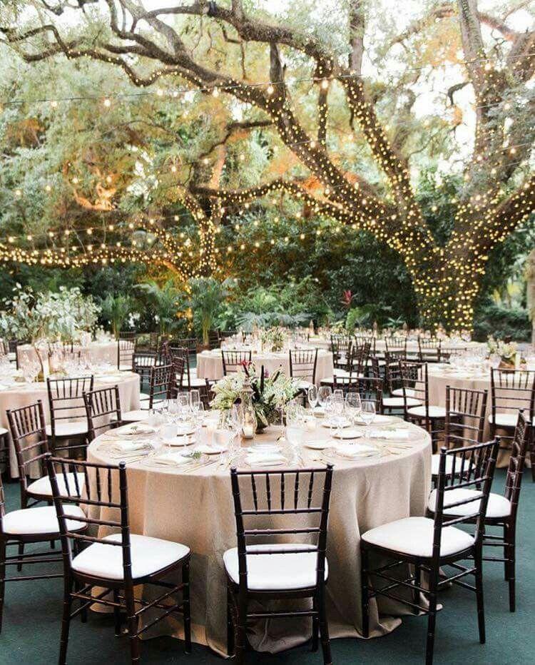 Destination Wedding Reception Ideas: Beautiful Reception Outside In 2019