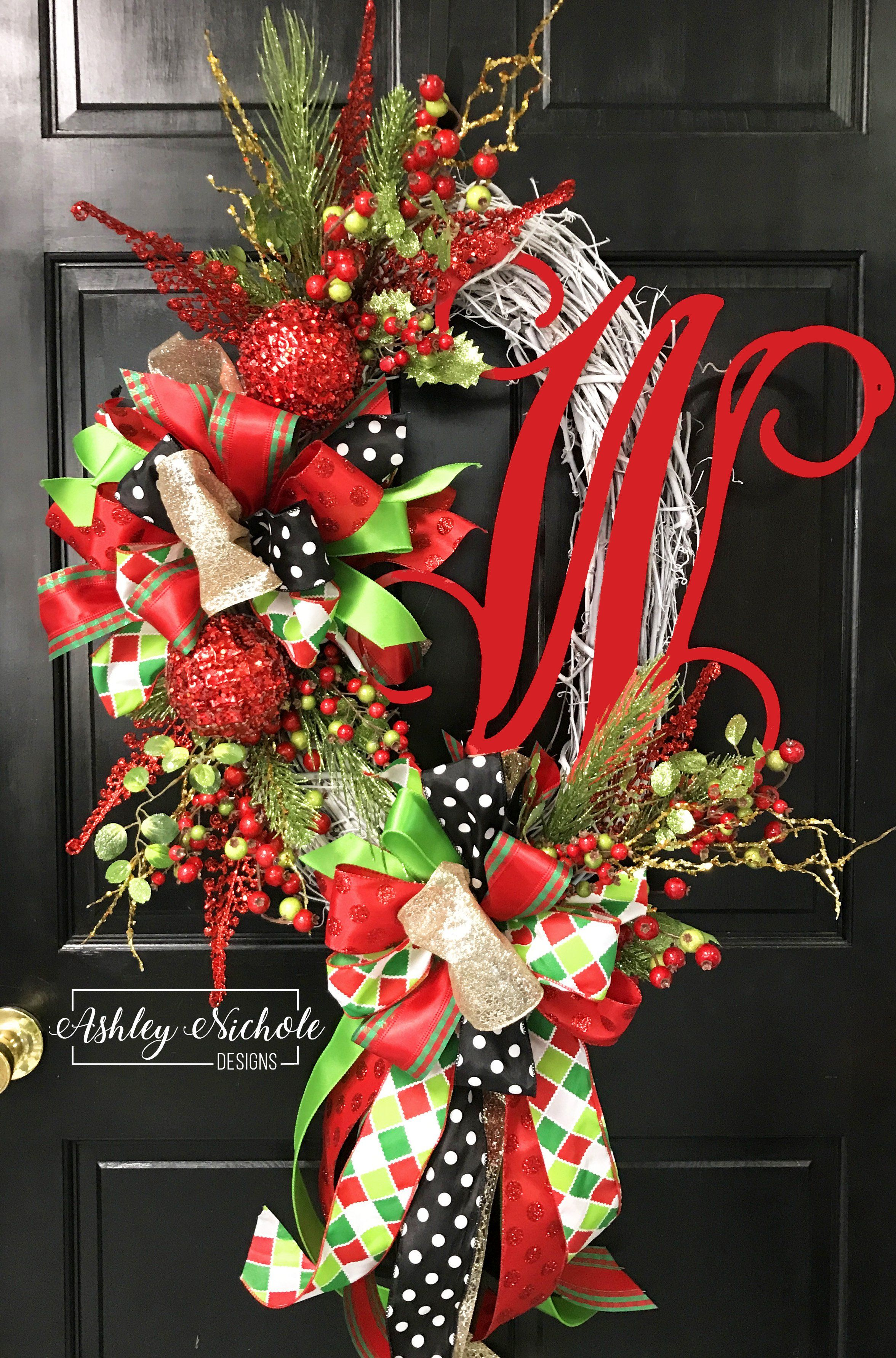 Glitzy Christmas Wreath