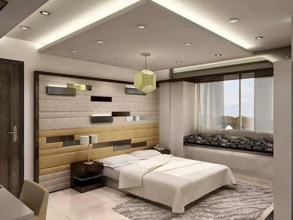 42 Fabulous Modern Bedroom Ceiling Designs 2018 House Ceiling