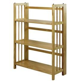 Casual Home 3 Shelf Folding Stackable Bookcase 27 5 In Wide