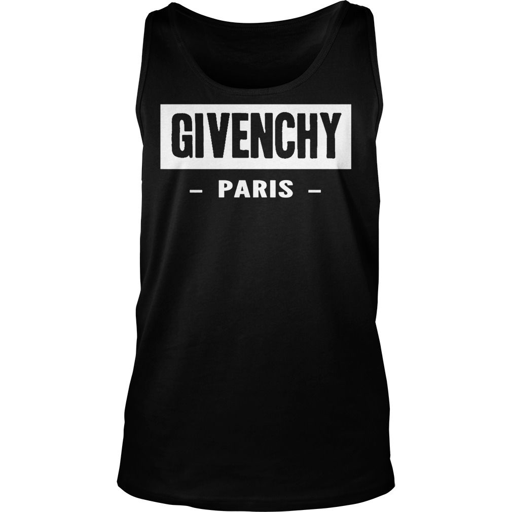 givenchy paris tank top hot trend t shirts ladies tee. Black Bedroom Furniture Sets. Home Design Ideas