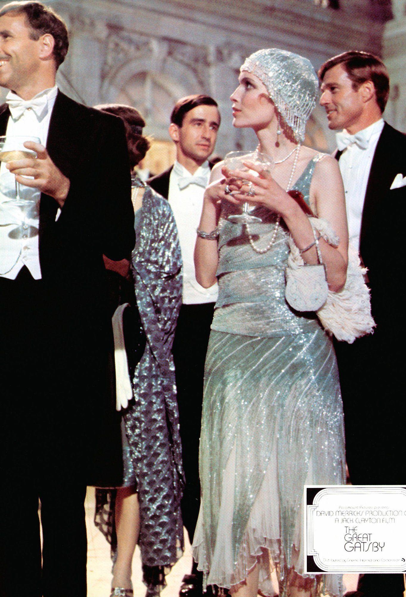 The Great Gatsby 1974 mia farrow - Google Search | Great gatsby fashion,  Iconic dresses, Gatsby party dress