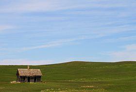 »DIE PRÄRIE. Ich war überwältigt. So etwas hatte ich noch nie gesehen. Ich war reif dafür, mich völlig überwältigen zu lassen.« Foto: Prairie - Wikipedia, the free encyclopedia