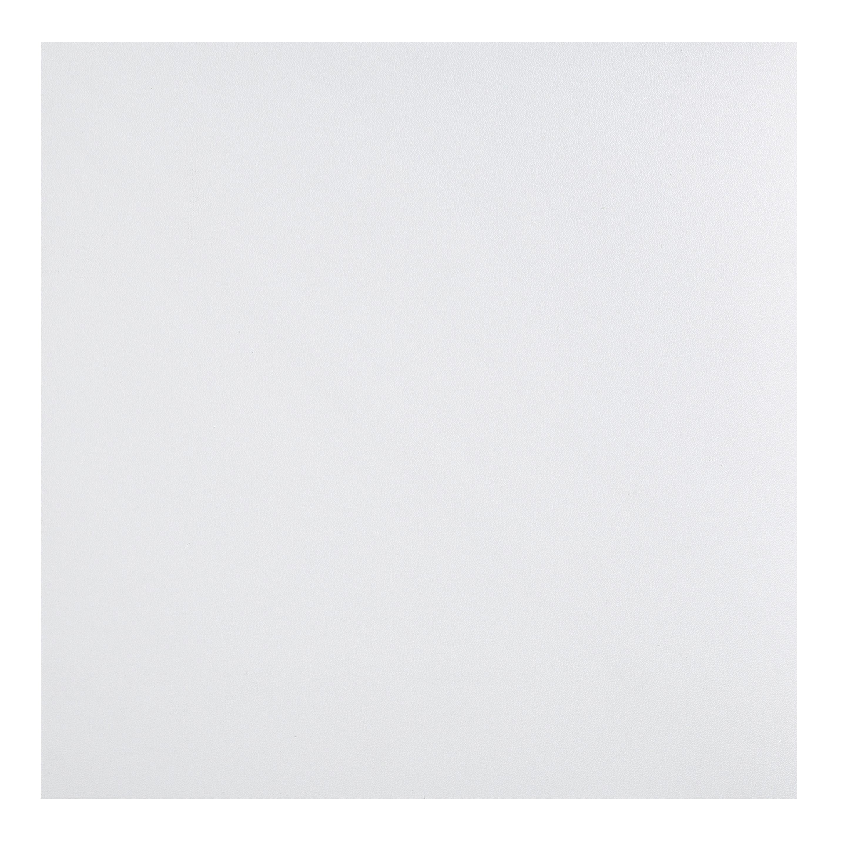 Colours White Self Adhesive Vinyl Tile 1 02m Pack