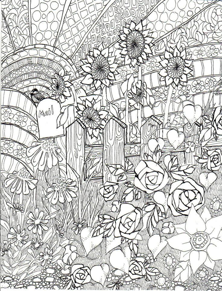 Pin by Ida Schoeneman on Cool Ideas | Coloring pages, Adult