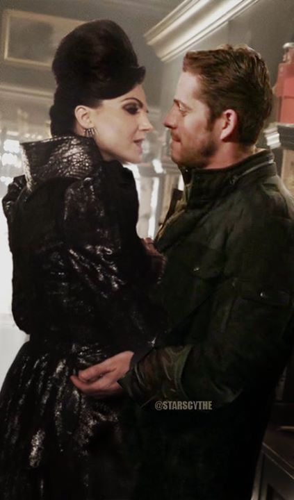 Awesome Evil Queen Regina and Robin (Lana and Sean) #Once #S6 (manip)