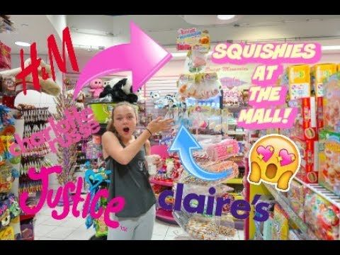 Squishy Justice : HUGE 12TH BIRTHDAY SHOPPING SPREE AT JUSTICE, CLAIRE S, VICTORIA S SECRET PINK AND MORE!! VLOG ...