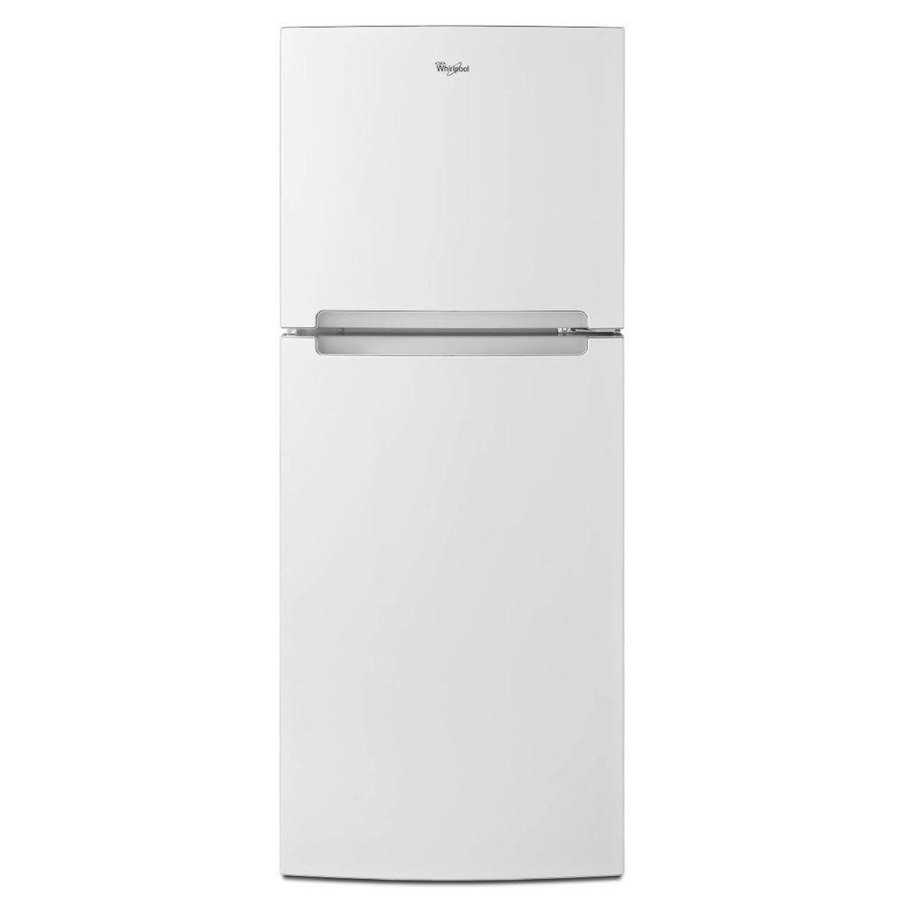 Whirlpool 10 7 Cu Ft Top Freezer Refrigerator In White