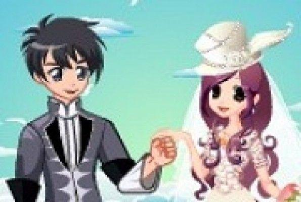 لعبة تلبيس العروس للزفاف العاب بنات Anime Dress Up Dressing