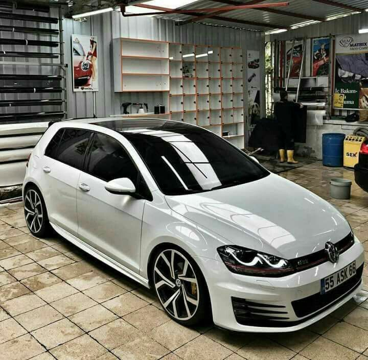Golf 7 White Milk Volkswagen Gti Volkswagen Car Volkswagen Golf