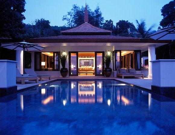 Trisara - Phuket.  Private pool villas