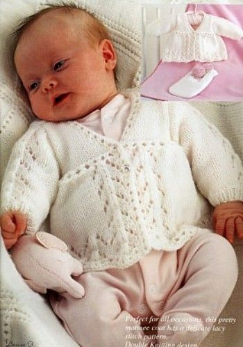 Vintage Baby Knitting Patterns - Page 1 | Crochet | Pinterest | Ropa ...