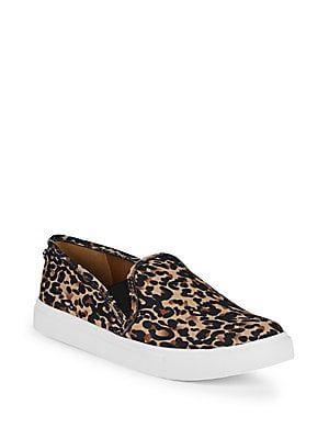 e56aa93c1f05 Steve Madden Leopard-Print Platform Sneakers