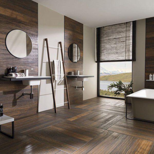 Parquet et salle de bains font-ils bon ménage ? ambiance