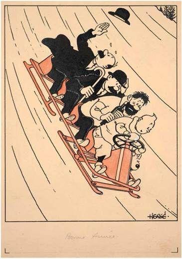 BD:ARTCURIAL – Hergé roi des enchères avec Tintin / le 19 novembre http://infos-75.com