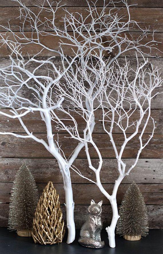 Kreative Und Einfache Bastelideen Herbst Für Selbstgemachte Dekoration Mit  Zweigen