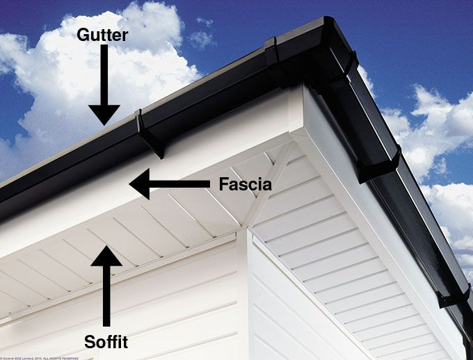 Fascias Soffits Guttering Emerald Home Improvements Exterior Siding Roof Soffits Exterior Lighting
