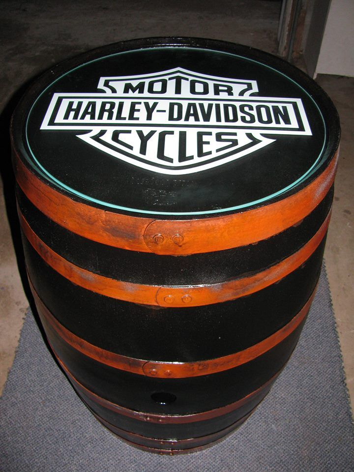 300 On Craigslist Custom Harley Davidson Motor Cycle Glass Top