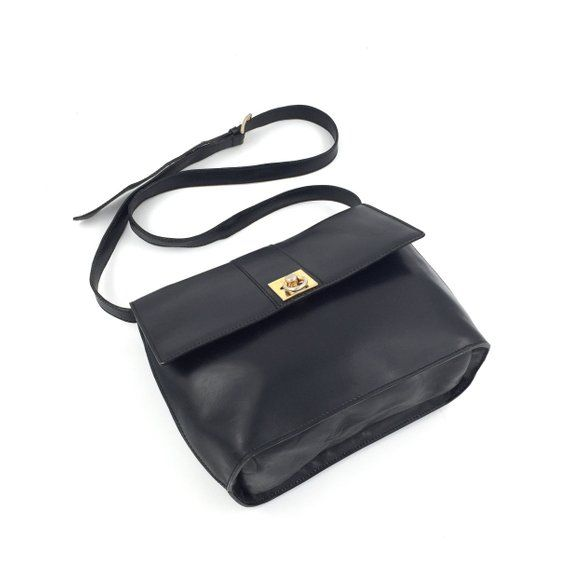 ca44d83acc5d Authentic Celine Vintage ring logo crossbody bag
