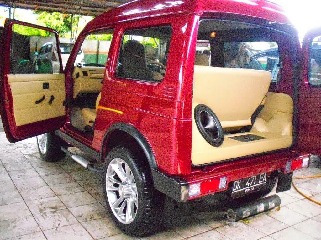 Modifikasi Mobil Katana Warna Merah Di 2020 Modifikasi Mobil