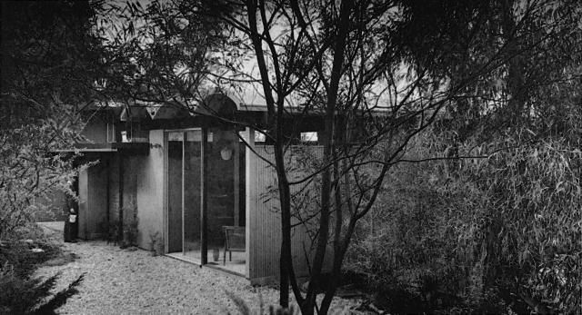 Hillside House - Architect Raul F. Garduno - Los Angeles 1962 - Photo by Leland Yee_4