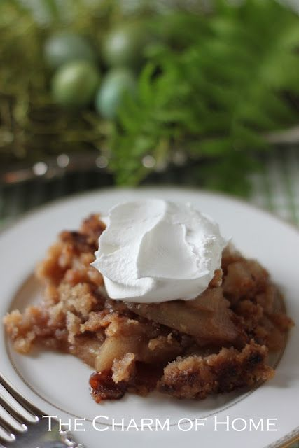 The Charm Of Home Pear Crisp Pear And Paula Deen