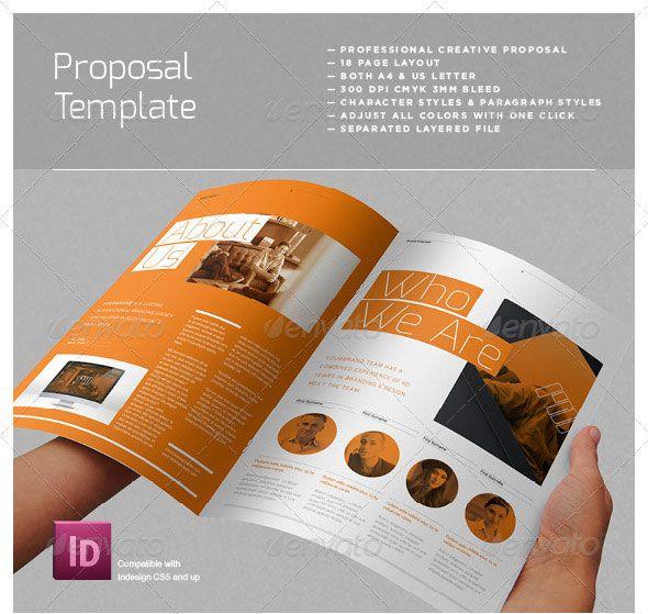 Agency Proposal Template Proposal Template Pinterest Proposal