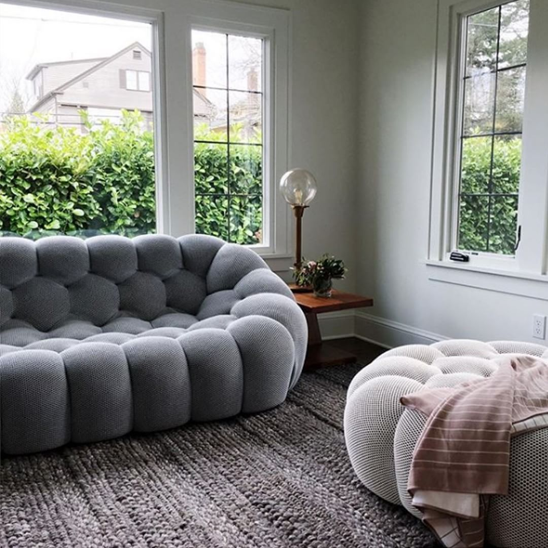 Roche Bobois Shape And Comfort Bubble Sofa Designed By Sacha
