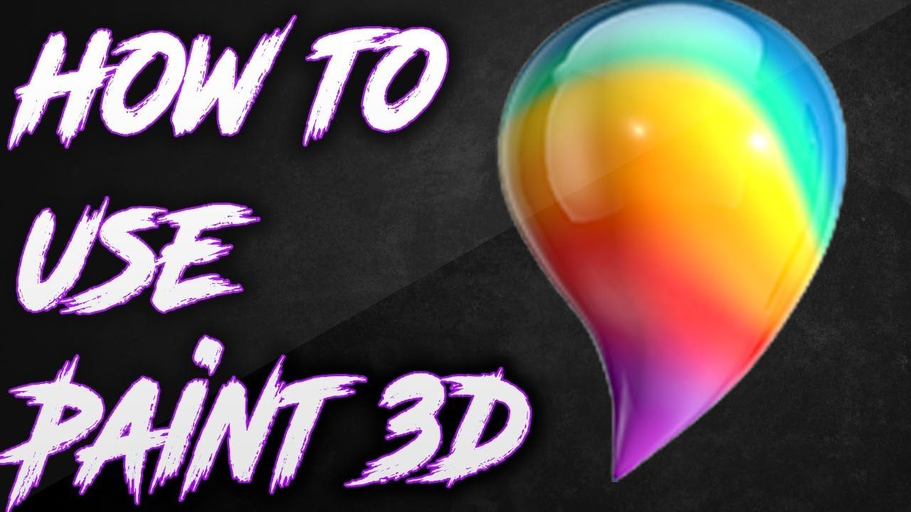 How to use Paint 3D 2017 in 2020 Painting, Button art