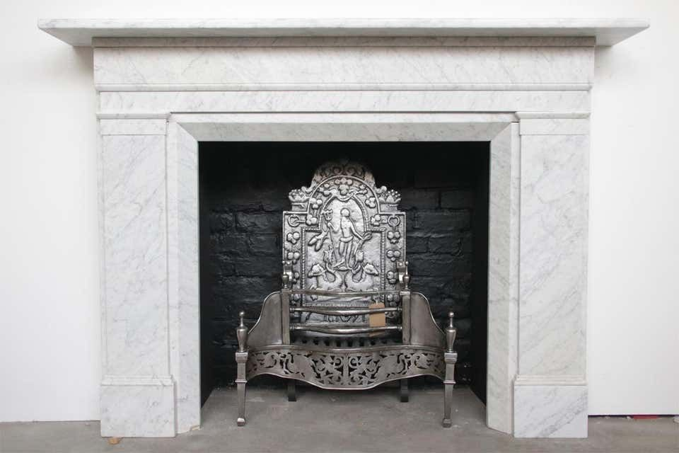For Sale On 1stdibs A Large Restored Antique Early Victorian Carrara Marble Fireplace Surroun In 2020 Marble Fireplaces Fireplace Surrounds Marble Fireplace Surround
