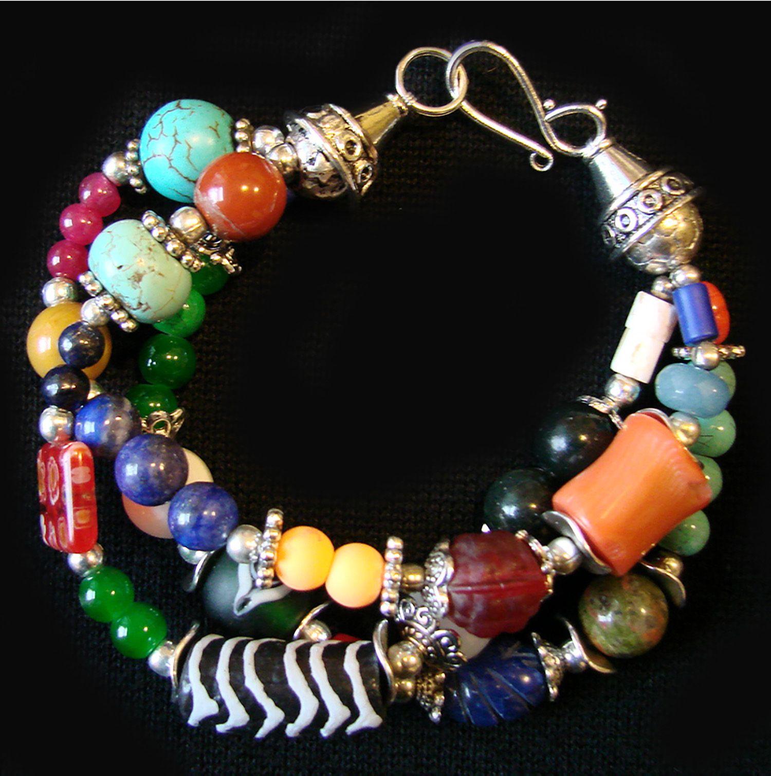 Boho Etno Bracelet Fashion Bracelets Boho Style Bracelets Beaded Bracelets
