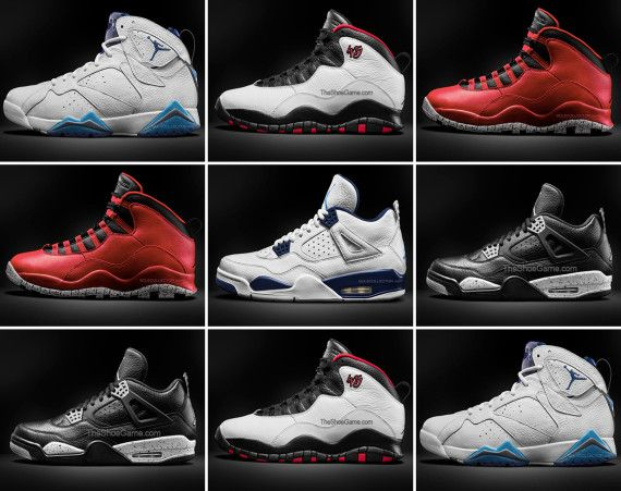 Air Jordan Retros Scheduled To Release In Spring 2015