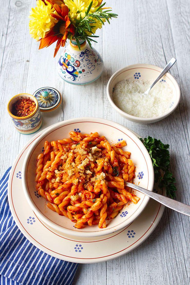 Pasta With Nduja, Lemon, & Breadcrumbs Recipe Italian