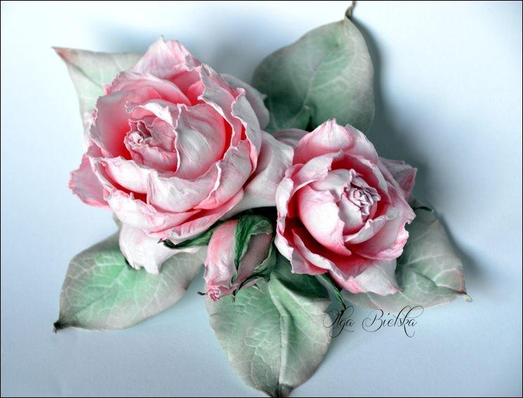 Broszka Dla Mamy Dt Craft Passion Flower Making Floral Flowers Flowers